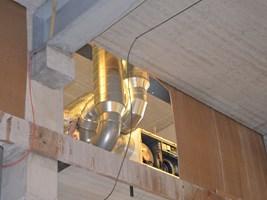 ventilatie bedrijf kantoor afvoer toevoer